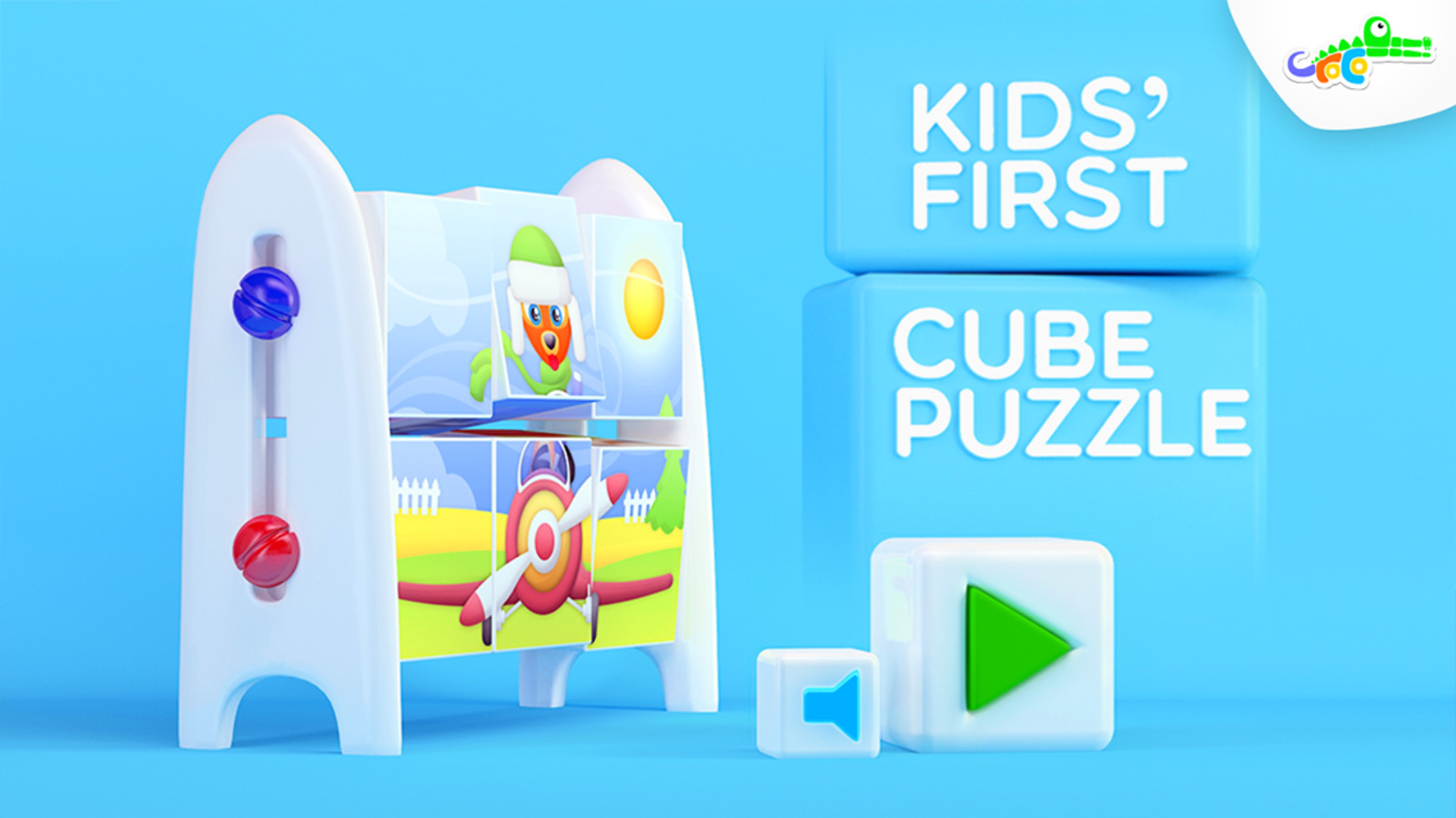 Kids' First Cube Puzzle