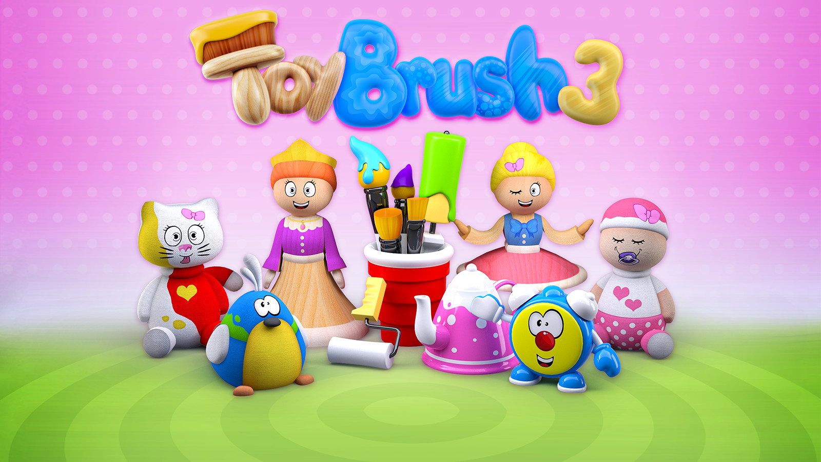Play Video - ToyBrush 3D