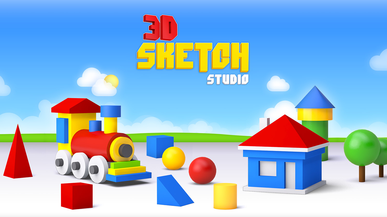3D Sketch and Stretch Studio