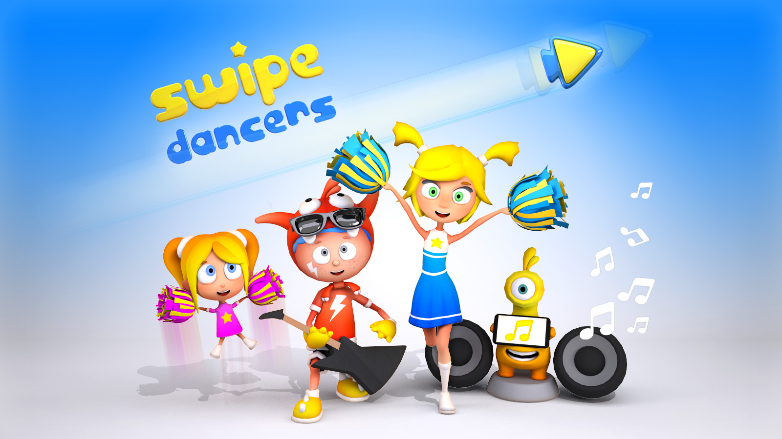 Swipe Dancers 3D